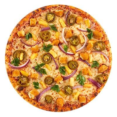 Kawa Topped Pizza