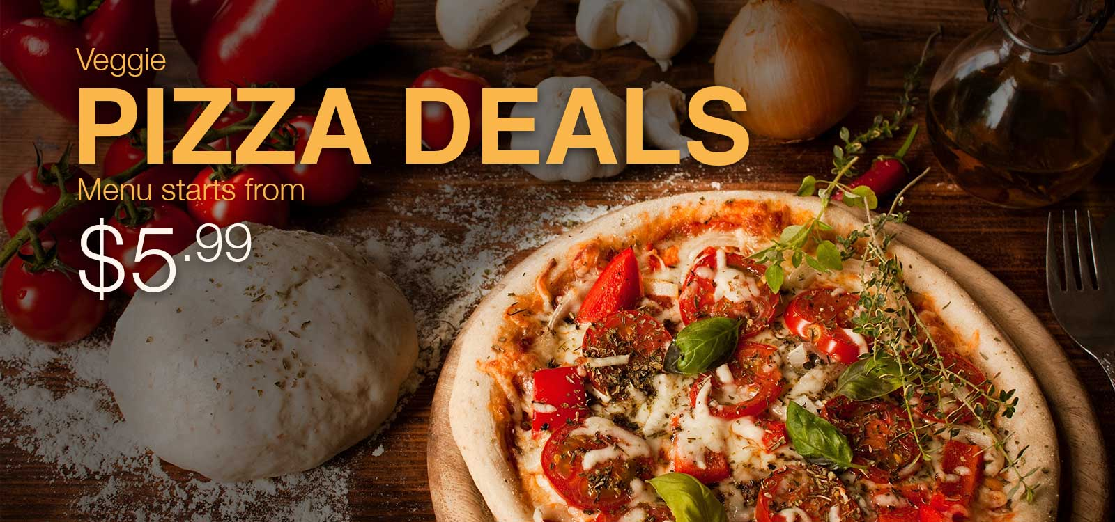 Veggie Planet Deal: Veggie Pizza deals starting from $4.99