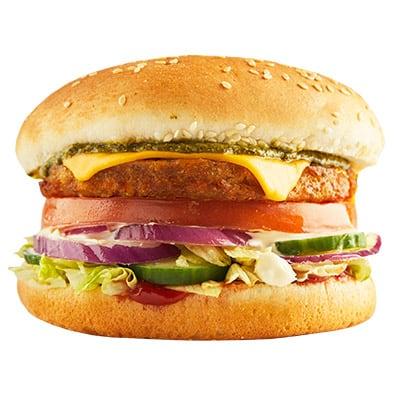 Veggie Burger + Fries