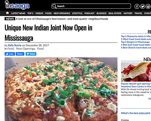 Unique New Indian Joint Now Open in Mississauga