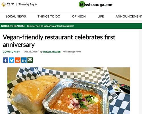Vegan-friendly restaurant celebrates first anniversary
